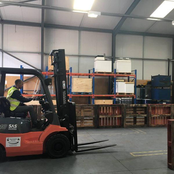 forklift training RTITB course