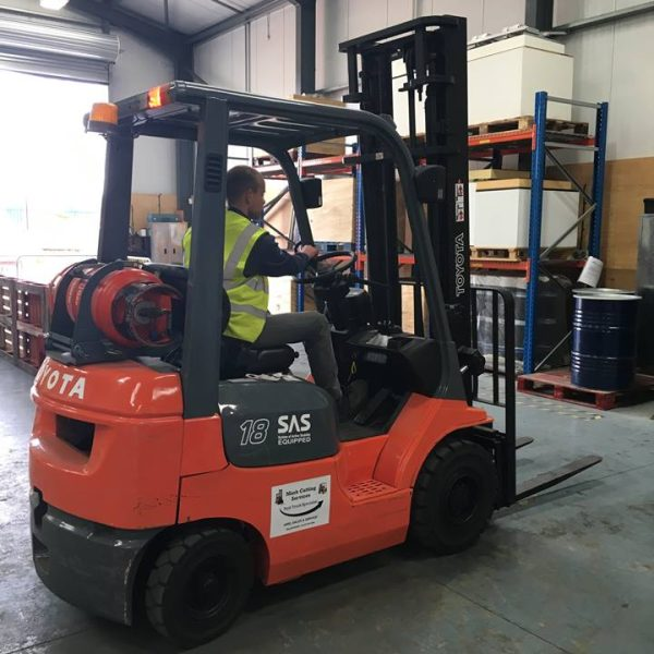RTITB Forklift Training – Novice Operator