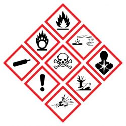 Coshh control of substances hazardous to health