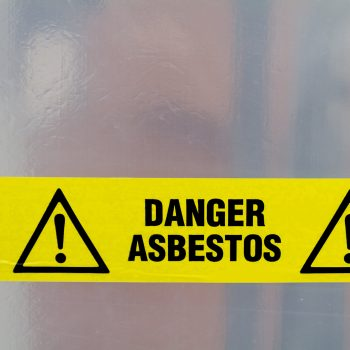 Asbestos Awareness Training course working with asbestos