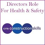 Directors role Health & Safety course