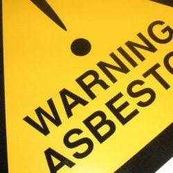 Asbestos Warning
