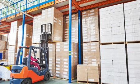 Warehouse & Logisitcs - Forklift RTITB Training Courses, Warehouse & Storage