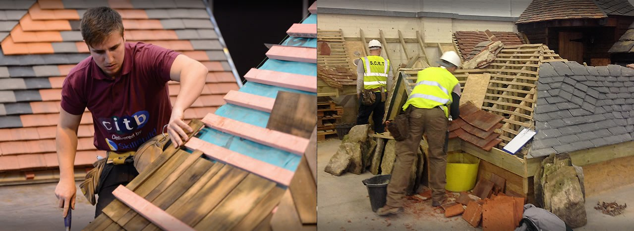 level 2 full framework slate tile apprenticeship