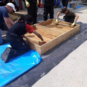 Learning To Lay A Concrete Floor Base