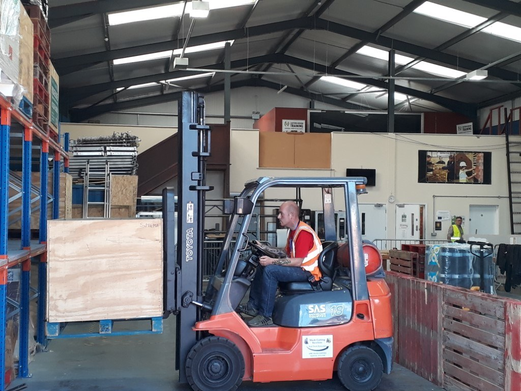 What Does A Forklift Training Course Involve
