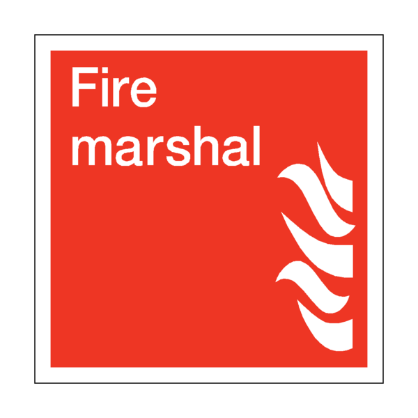 Fire Marshal Square Sign Grande