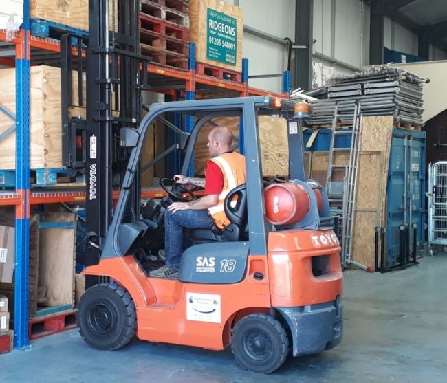 What Does A Forklift Course Involve 1